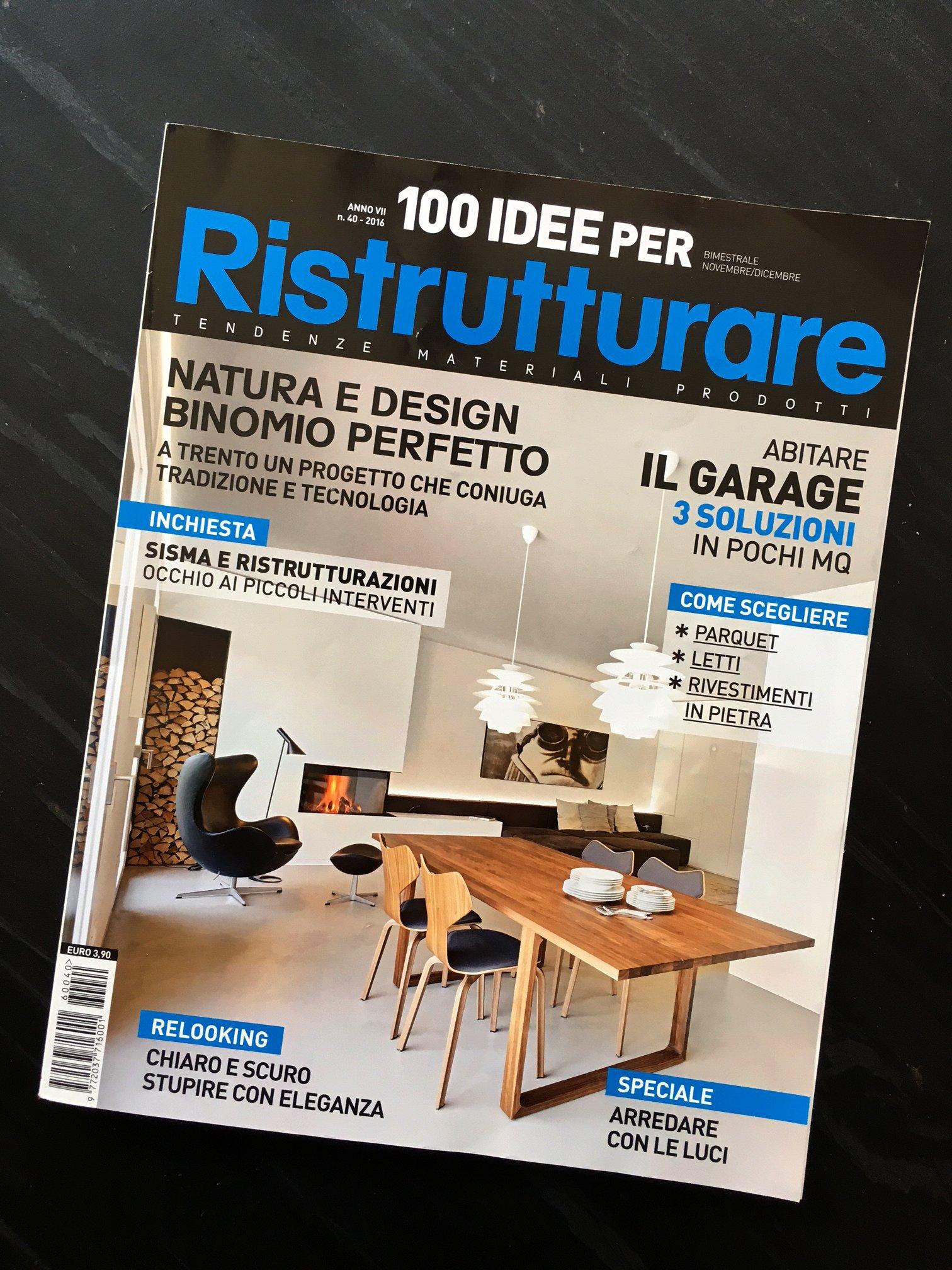 100 idee per RISTRUTTURARE – Nov/Dic